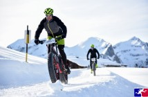 Snow Bike in der Schweiz in Gstaad