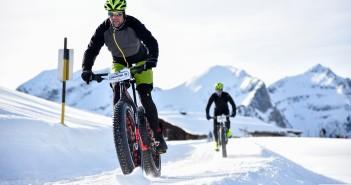 Snow Bike in der Schweiz in Gstaad