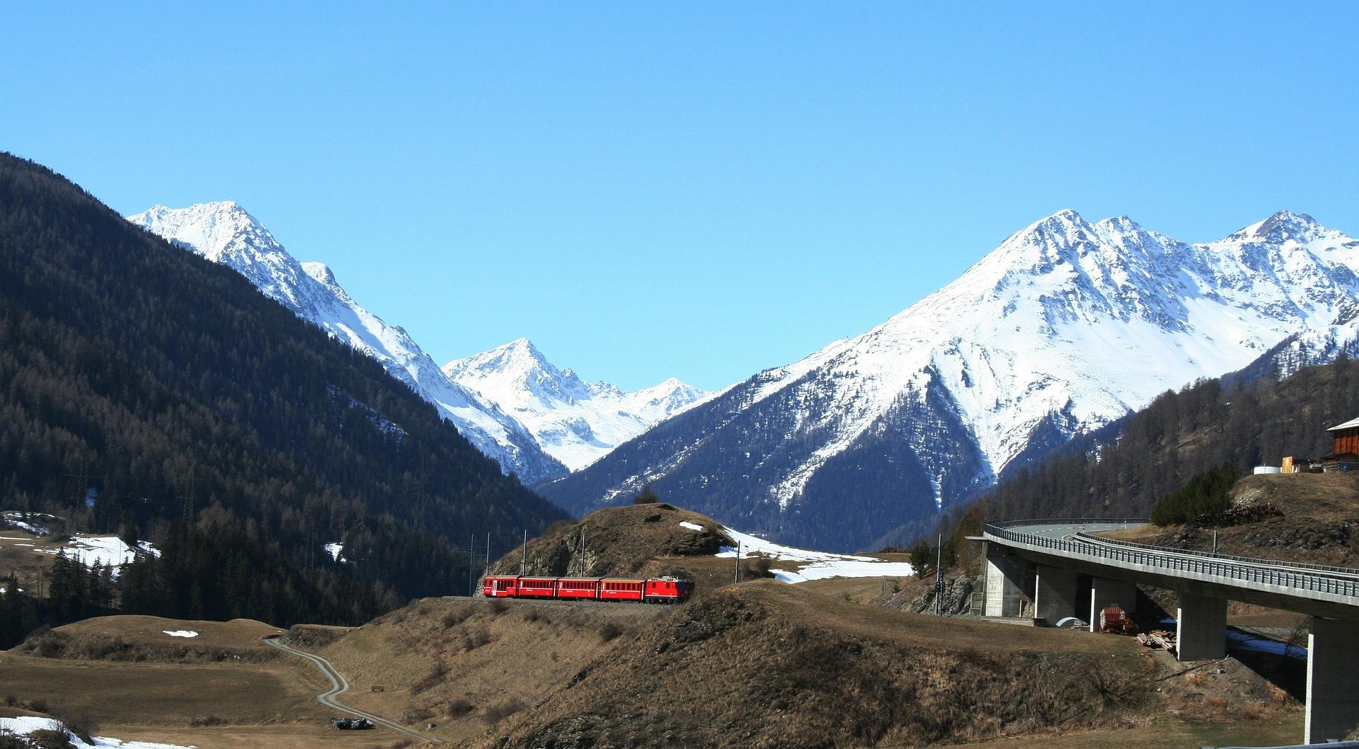 Swiss railways ticket